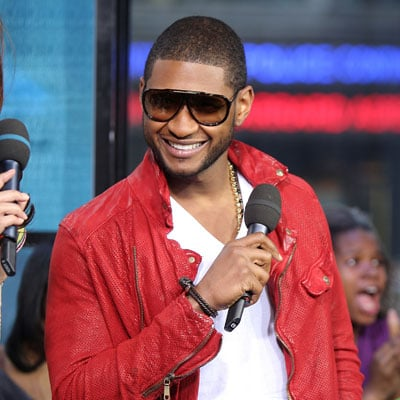 Usher on TRL