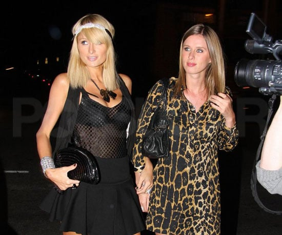 Photo Slide of Paris Hilton and Nicky Hilton Partying in LA