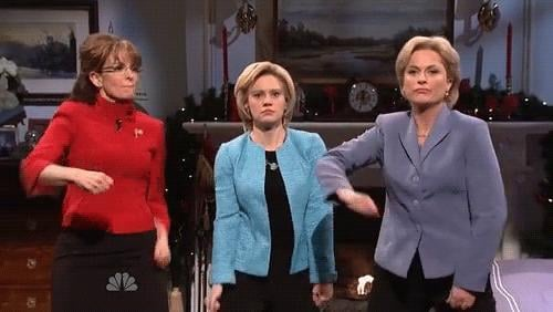 The two brought down the house when they did their epic impersonations of Sarah Palin and Hillary Clinton during their SNL hosting gig earlier this year.