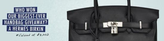 And the Winner of the Hermès Birkin Bag is . . .