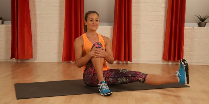 The One Seated Move That Will Tone Your Shoulders And Back In A Big Way