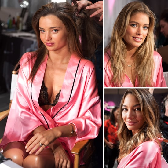 Miranda, Alessandra and Doutzen Get Sexy For Today's VS Fashion Show