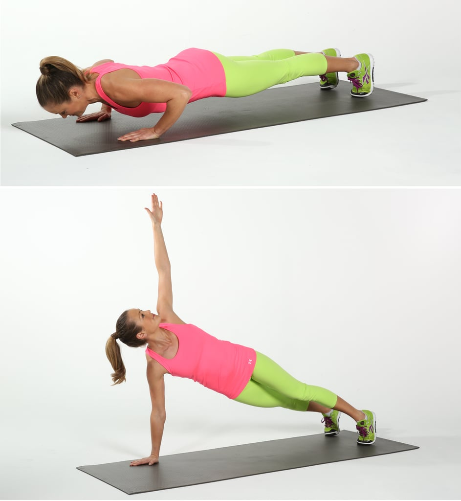 Push-Up and Rotate