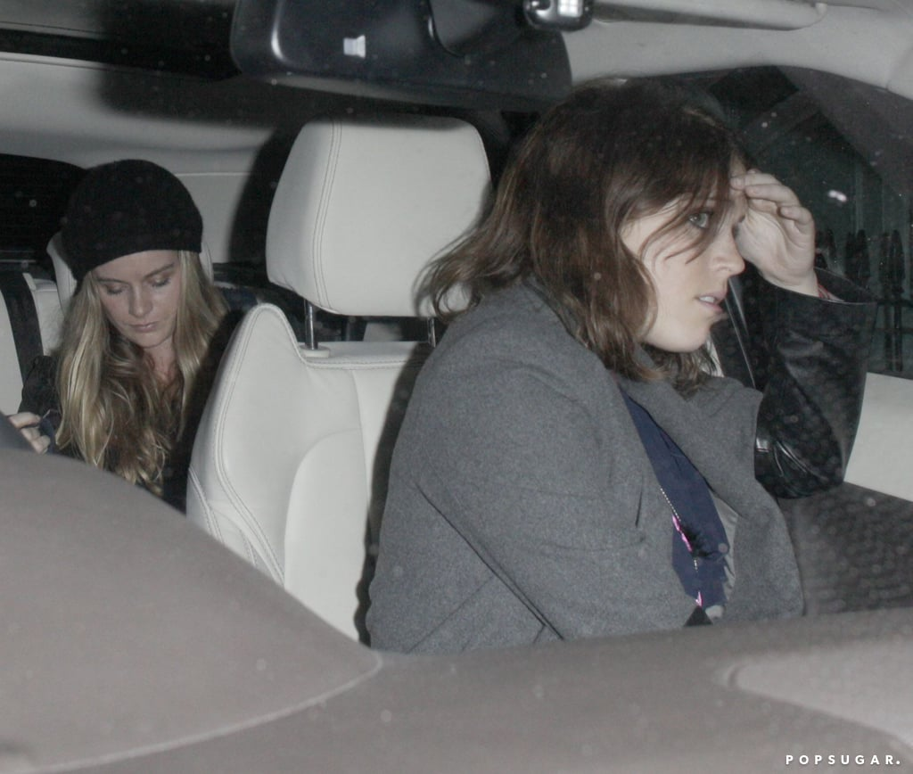 Princess Eugenie drove Cressida Bonas after they left the club.