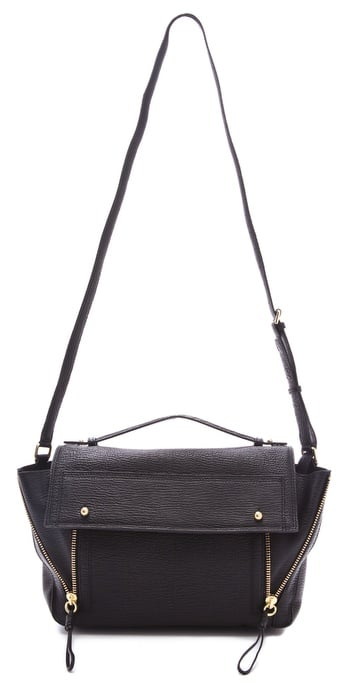 We're lusting over this bag for Fall, and the clean lines and crisp crossbody silhouette make it perfect for toting to class. 3.1 Phillip Lim Pashli Messenger Bag ($750)