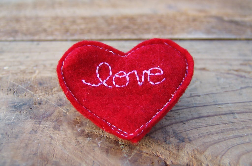 Sweet Sapling Valentine's Heart Clip