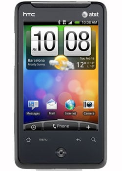 HTC Aria Details