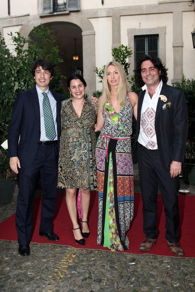 Etro's Veronica, Costanza, and Kean Etro