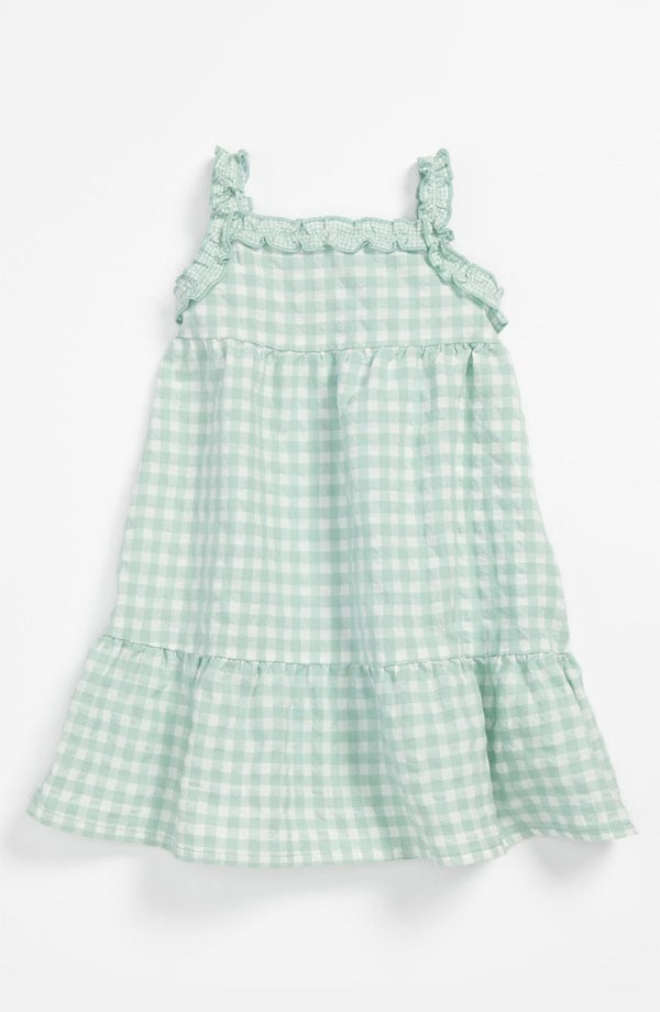 A minty-green sundress ($34) from United Colors of Benetton Kids is an easy, breezy wear.