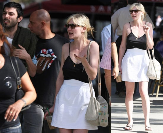 Photos of Kirsten Dunst With Her Ex-Boyfriend Matt Creed in Miami