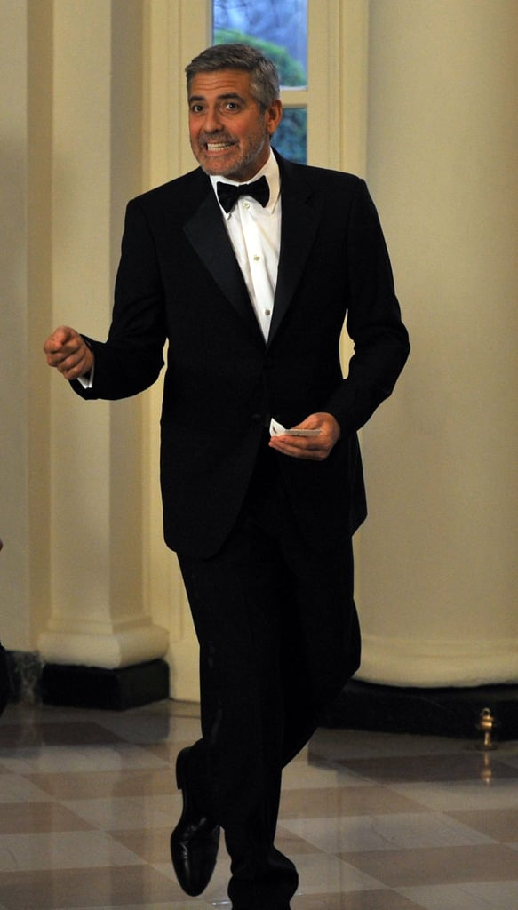 George Clooney, John Legend and More Stars Go Black Tie For the White House State Dinner