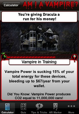 Find Out What Kind of Power Vampire You Are With the Vampire Power Calculator App
