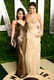 Vanessa Hudgens and Selena Gomez arrived at the Vanity Fair Oscar party.