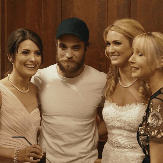Robert Pattinson Can Now Add Wedding Crasher to His CV