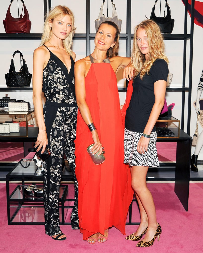 Martha Hunt and Elizabeth Gilpin joined Natalie Joos at her DVF event to support Tales of Endearment.