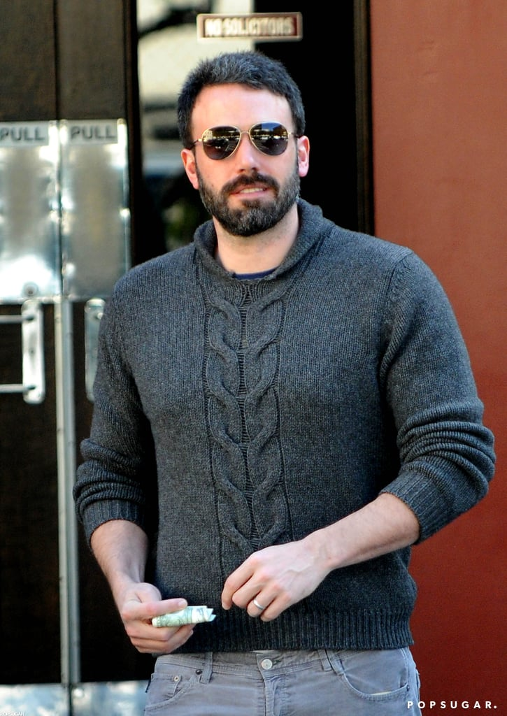 Ben Affleck wore a pair of shades while out and about in LA.