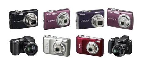 Daily Tech: Nikon Debuts 8 New COOLPIX Digicams