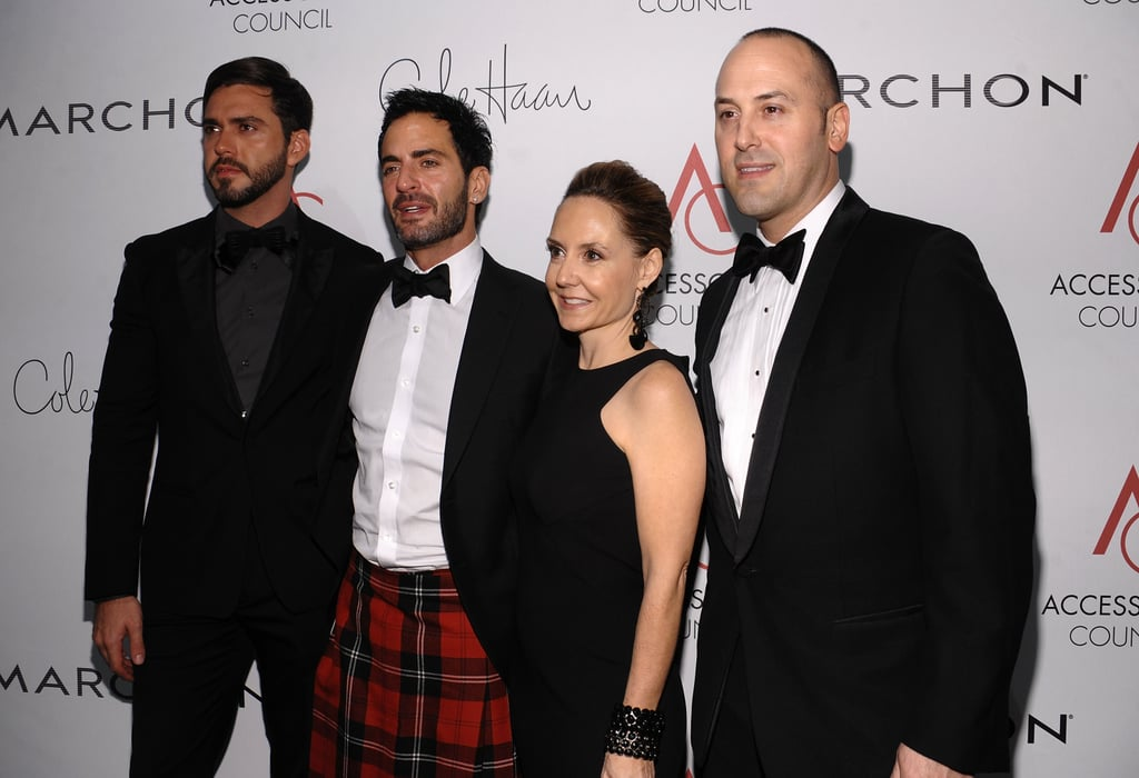 Lorenzo Martone, Marc Jacobs, Karen Giberson, Frank Zambrelli