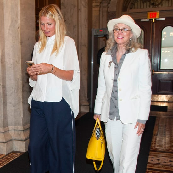 Gwyneth Paltrow and Blythe Danner Capitol Hill Pictures