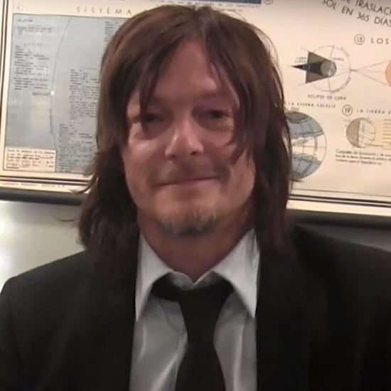 """Norman Reedus Playing """"Would You Rather"""" on Jimmy Fallon"""
