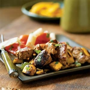 Fast & Easy Dinner: Caribbean Pork and Plantain Hash
