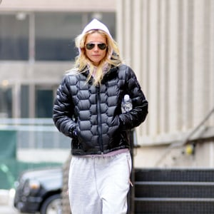 Pictures of Gwyneth Paltrow Leaving Gym in a Marmot Jacket