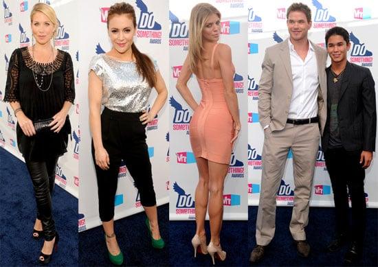 Kellan Lutz, Megan Fox, Pete Wentz and Matthew Bomer at the VH1 Do Something Awards 2010-07-20 17:00:00