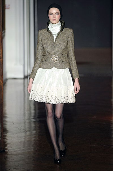 Christian Lacroix May Have Just Shown His Last Couture Show for Fall 2009; Will He Go Back Into LVMH Fold?