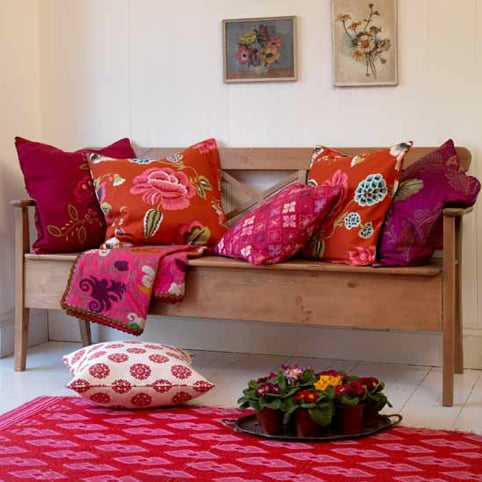 Decorating With Cozy Fall Throws