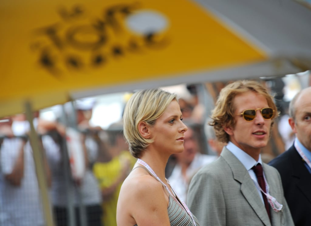 Andrea spent time with Charlene Wittstock in 2009, when she was only Prince Albert's girlfriend.