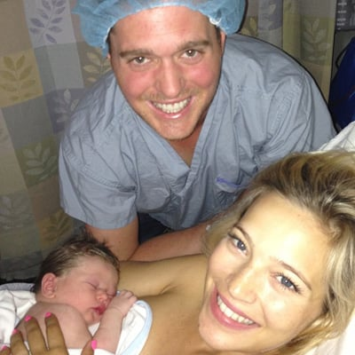 Michael Buble Welcomes a Baby Boy