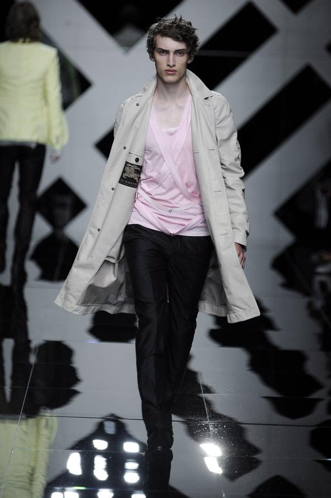 Milan: Burberry Prorsum Men's Spring 2010