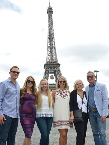 Four-Generation American Family Spends the Night in the Eiffel Tower - on the Fourth of July!