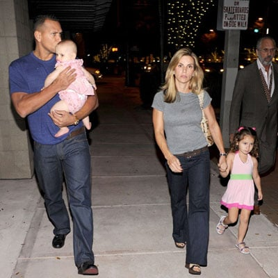 Alex Rodriguez and Cynthia Rodriguez With Their Kids in Miami
