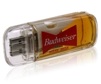 Beer USB Drive: Geekish or Freakish?