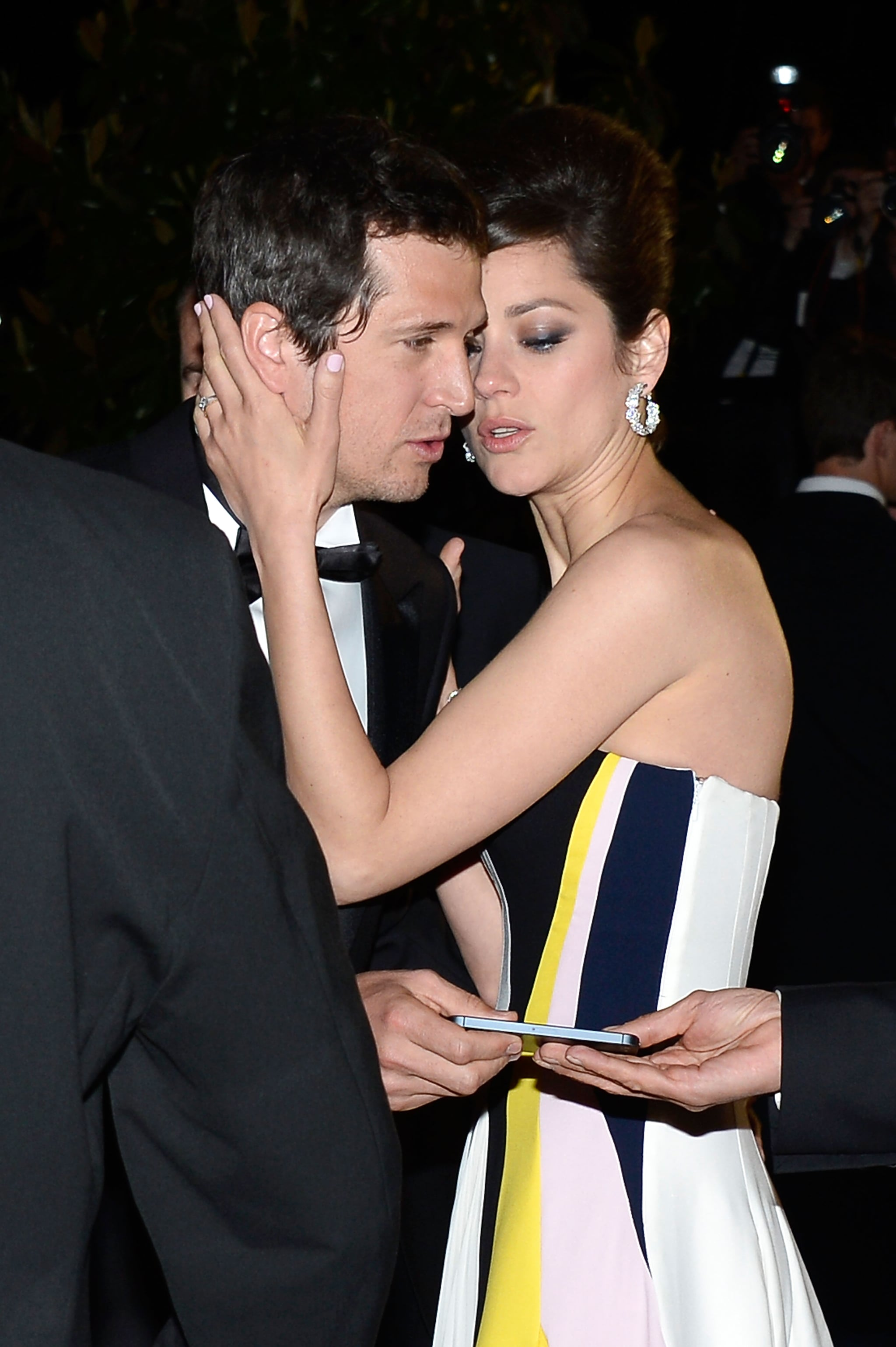 Guillaume Canet and Marion Cotillard in 2013