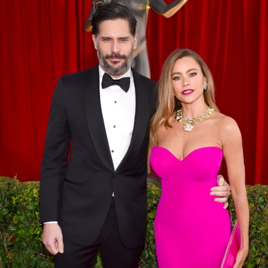 Sofia Vergara and Joe Manganiello's PDA at SAG Awards 2016