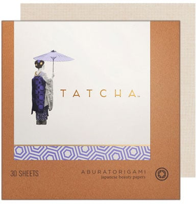 Tatcha aburatorigami japanese beauty papers (original)