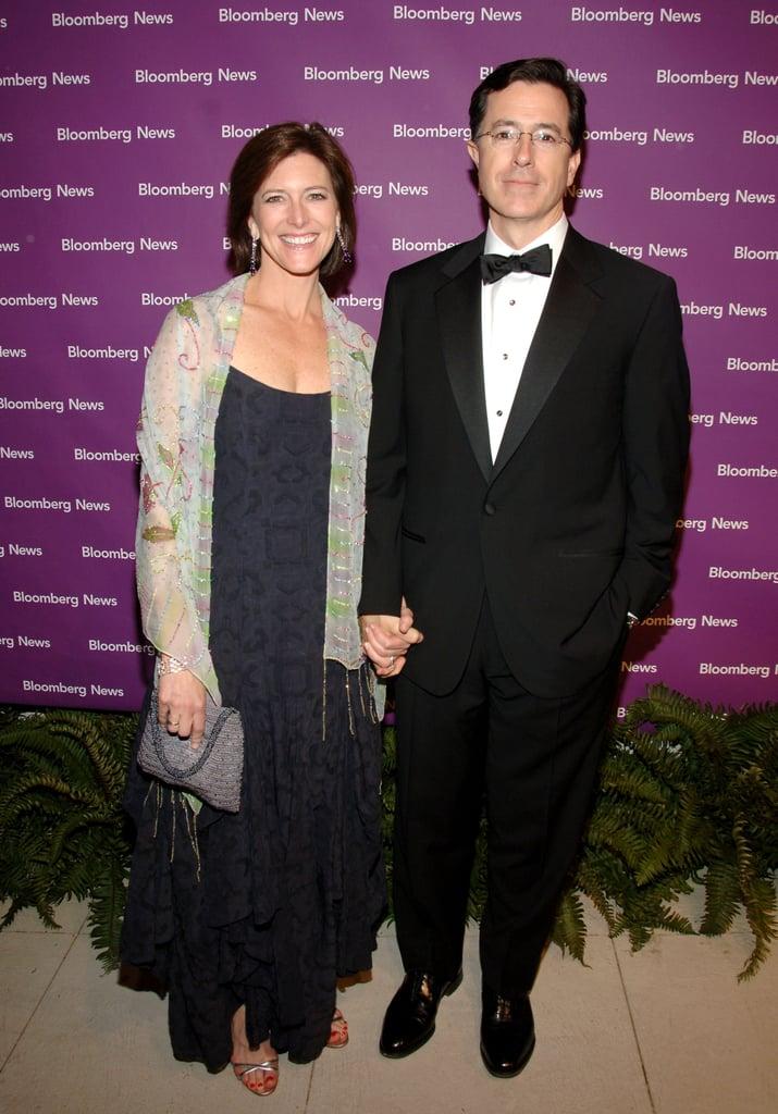 Stephen Colbert and Evelyn Colbert