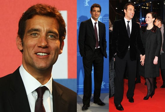 Photos of Clive Owen Promoting The International at the Berlin Film Festival