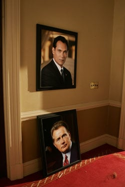 Jimmy Smits was Barack Obama on The West Wing