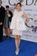 Marion Cotillard looked gorgeous in a short white dress.