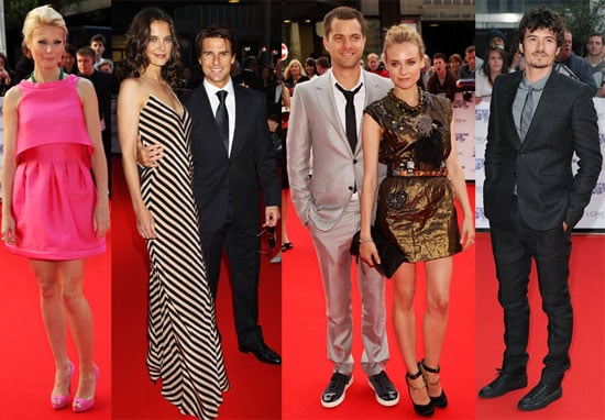 Pictures of Tom Cruise, Katie Holmes, Emma Watson, Diane Kruger at National Movie Awards