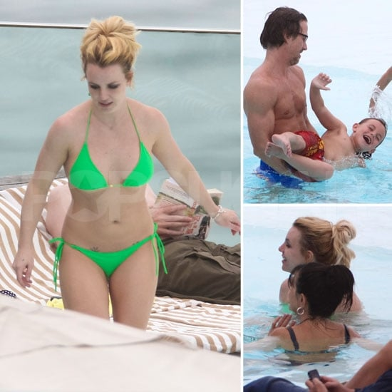Britney Spears Puts on a Tiny Bikini For Rio Pool Time With Her Boys!