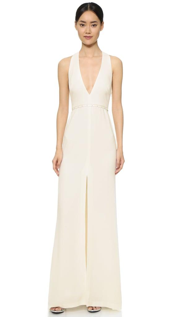 Halston Heritage Modern Gown with Hardware ($445)
