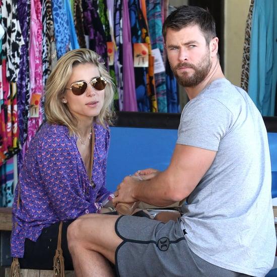 Chris Hemsworth and Elsa Pataky in Australia July 2016