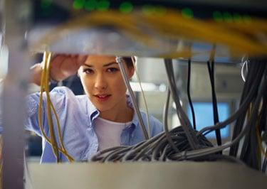 Female Comcast Cable Technicians