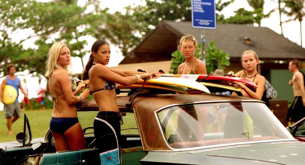 Kate Bosworth, Michelle Rodriguez, Sanoe Lake, and Mika Boorem, Blue Crush