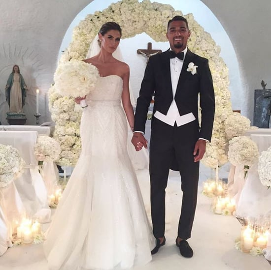 Melissa Satta's Wedding Dress
