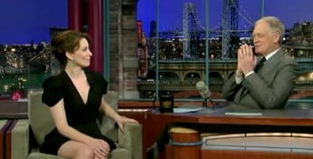 Tina Fey Imitates Tracy Morgan on David Letterman